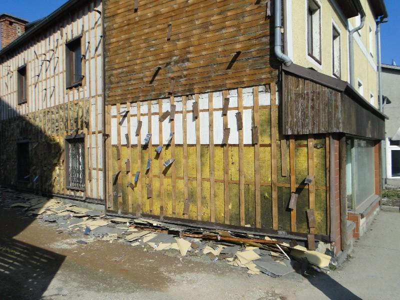 verwahrloste Fassade